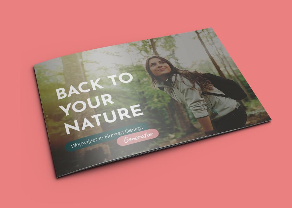 Wegwijzer Generator in Human Design - Back to your Nature